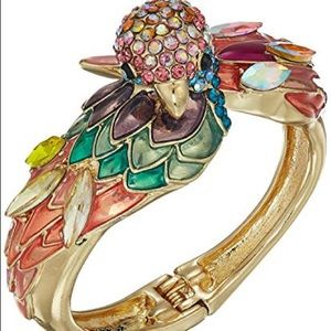 NWT Betsey Johnson Parrot Cuff Bracelet